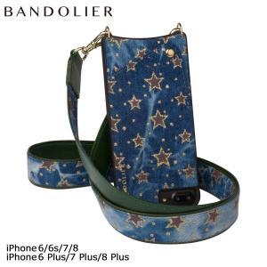 バンドリヤー BANDOLIER iPhone8 iPhone7 7Plus 6s ケース スマホ アイフォン プラス ANGELA FALL17 レザー デニム メンズ レディース|sugaronlineshop