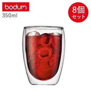 bodum ボダム ダブルウォールグラス パヴィーナ グラス セット 8個セット 350ml 保温 保冷 DOUBLE WALL GLASS PAVINA クリア 4559-10US [1/31 新入荷] sugaronlineshop
