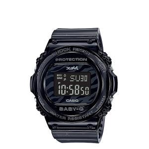 カシオ CASIO BABY-G X-girl エックスガール 腕時計 BGD-570XG-8JR 25周年 限定 コラボ ベビージー ベビーG G-ショック レディース ブラック 黒