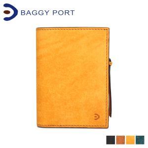 BAGGY PORT バギーポート 財布 二つ折り メンズ レディース BUONA ブラック キャメル イエロー 黒 ZYS2402 [1/21 新入荷]|sugaronlineshop