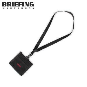 ブリーフィング BRIEFING パスケース カードケース ID 定期入れ メンズ ID CASE ブラック 黒 BRF064219 [10/31 新入荷]
