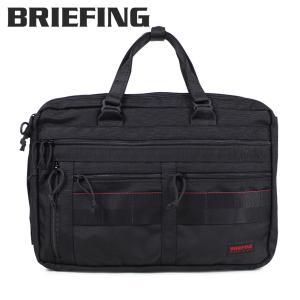ブリーフィング BRIEFING バッグ 3way ブリーフケース ビジネスバッグ メンズ A4 3 WAY LINER ブラック 黒 BRM181401010