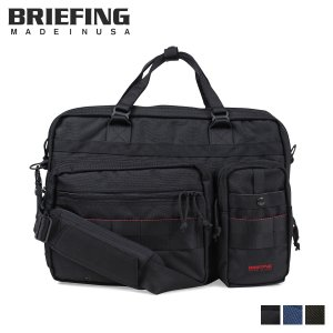 ブリーフィング BRIEFING バッグ ブリーフケース ビジネスバッグ メンズ B4 OVER TRIP ブラック BRF117219