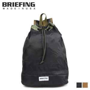 ブリーフィング BRIEFING リップストップ ドローストリング リュック バッグ バックパック メンズ レディース RIPSTOP DRAWSTRING ブラック ブラウン 黒 BRL181101 [10/31 新入荷]