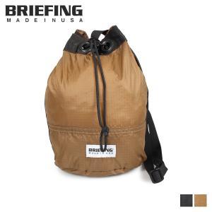 ブリーフィング BRIEFING リップストップ ドローストリング バッグ ショルダーバッグ メンズ レディース RIPSTOP DRAWSTRING ブラック ブラウン 黒 BRL181201 [10/31 新入荷]