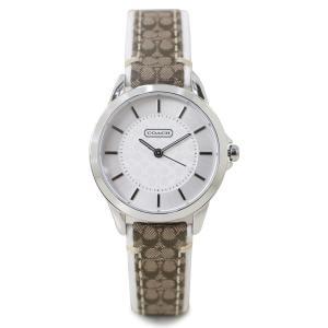 COACH コーチ 腕時計 レディース シグネチャー レザー ブラウン 14501526 sugaronlineshop