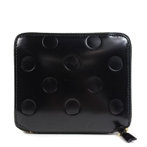 コムデギャルソン COMME des GARCONS 財布 二つ折り メンズ レディース ラウンドファスナー ブラック 黒 SA2100NE [予約商品 11/3頃入荷予定 追加入荷]