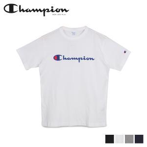 チャンピオン Champion Tシャツ 半袖 メンズ レディース T-SHIRT ブラック ホワイト グレー ネイビー 黒 白 C3-P302