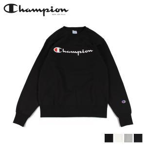 チャンピオン Champion トレーナー スウェット メンズ レディース ロゴ CREW NECK SWEATSHIRT ブラック オフホワイト グレー ネイビー 黒 C3-Q007 [予約商品 10/15頃入荷予定 新入荷]