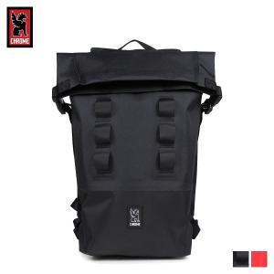 クローム CHROME リュック バッグ バックパック 18L メンズ レディース URBAN EX ROLLTOP 18 BG-217 ブラック [予約商品 11/13頃入荷予定 再入荷]
