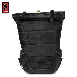 CHROME クローム リュック バック バックパック エンジン ロールトップ メンズ レディース MAZER ENSIGN ROLLTOP PACK ブラック 黒 BG-279 11/19 新入荷|sugaronlineshop