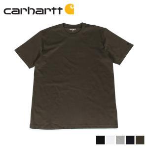 カーハート carhartt Tシャツ メンズ 半袖 無地 SS BASE T-SHIRT ブラック ホワイト グレー ダーク ネイビー オリーブ 黒 白 I026264 [11/7 新入荷]