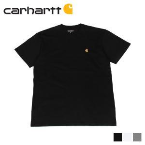 カーハート carhartt Tシャツ メンズ 半袖 無地 SS CHASE T-SHIRT ブラック ホワイトダーク グレー 黒 I026391 [11/7 新入荷]