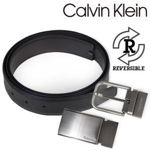 カルバンクライン Calvin Klein ベルト メンズ 本革 ベルトセット リバーシブル バックル CK ビジネス ブラック ブラウン 74140 [予約商品 10/18頃入荷予定 再入荷]