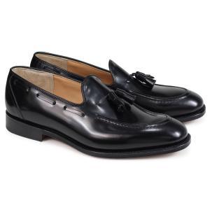 Churchs チャーチ 靴 キングスレー 2 ローファー メンズ タッセルローファー メンズ KINGSLEY 2 POLISHED BINDER EDB027 ブラック 黒|sugaronlineshop