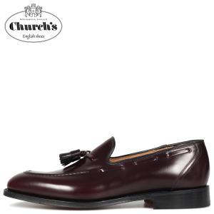Churchs チャーチ キングスレー 2 タッセルローファー ローファー メンズ KINGSLEY 2 ワイン レッド EDB027|sugaronlineshop
