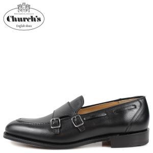 Churchs チャーチ クラットフォード モンクストラップ ローファー メンズ CLATFORD ブラック 黒 EDB080|sugaronlineshop