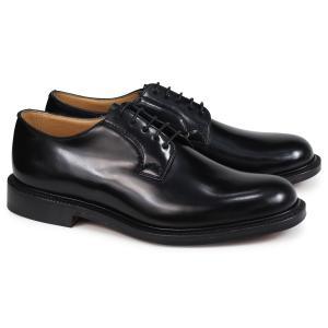 Churchs チャーチ 靴 シャノン プレーントゥ シューズ メンズ SHANNON POLISHED BINDER EEB001 ブラック 黒 [2/26 追加入荷]|sugaronlineshop