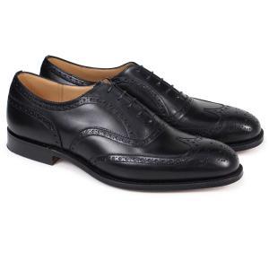 Churchs 靴 チャーチ チェットウインド ウイングチップ シューズ メンズ CHETWYND レザー ブラック 黒 EEB007|sugaronlineshop