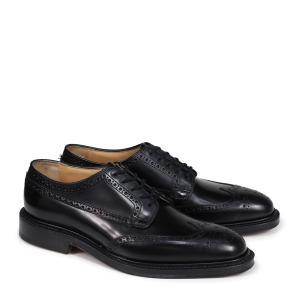 Churchs チャーチ 靴 グラフトン ウイングチップ シューズ メンズ GRAFTON レザー ブラック EEB009|sugaronlineshop