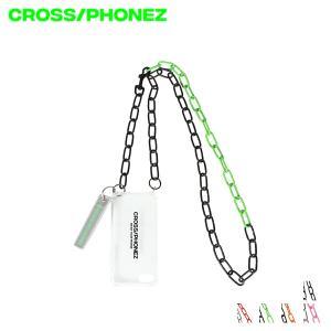 クロスフォンズ CROSS/PHONEZ ケース スマホ 携帯 アイフォン メンズ レディース CHAIN CASE ブラック レッド グリーン オレンジ ピンク 黒 CHAIN [11/19 新入荷]
