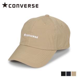 コンバース CONVERSE キャップ 帽子 ローキャップ メンズ レディース CN TC TAFETA LOW CA ブラック ネイビー ベージュ 黒 197-112702 [11/5 新入荷]