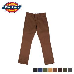 ディッキーズ Dickies ワークパンツ パンツ チノパン メンズ ストレッチ TC STRETCH NARROW PANTS ブラウン グリーン WD5882 DK006899 [10/15 新入荷]