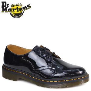 ドクターマーチン Dr.Martens 1461 レディース メンズ  WOMEN'S 1461 3 EYE SHOE シューズ 3ホール R10084001 ブラック