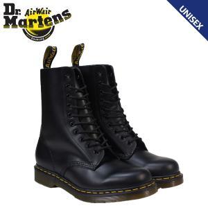 ドクターマーチン Dr.Martens 1490 メンズ レディース 10EYE BOOT ブーツ 10ホール ブーツ R11857001 ブラック
