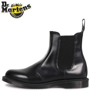 Dr.Martens ドクター マーチン サイドゴア ブーツ メンズ レディース FLORA CHELSEA BOOT ブラック 黒 R14649001