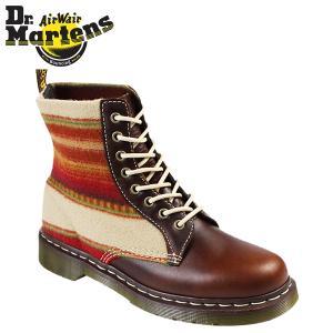 ドクターマーチン Dr.Martens ペンドルトン R15850230 8ホール ブーツ [ タン × ベージュ ] PENDLETON メンズ レディース ユニセックス