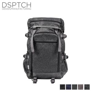 DSPTCH ディスパッチ バッグ リュック バックパック メンズ レディース RUCKPACK 25L ブラック ネイビー PCK-RP