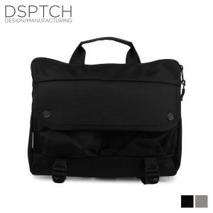 ディスパッチ DSPTCH バッグ ショルダーバッグ SHOULDER BAG 12L メンズ レディース ブラック PCK-SB