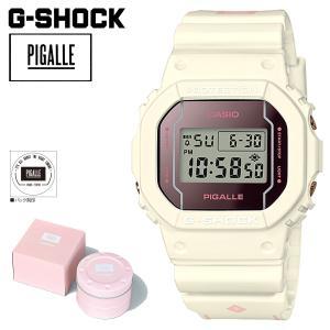 CASIO カシオ G-SHOCK 腕時計 ピガール DW 5600PGW 7JR PIGALLE ジーショック G-ショック Gショック ホワイト メンズ レディース 11/10 新入荷|sugaronlineshop