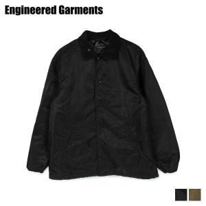 エンジニアドガーメンツ ENGINEERED GARMENTS ジャケット メンズ GROUND JACKET ブラック 黒 19FD017 [11/12 新入荷]