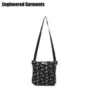 ENGINEERED GARMENTS エンジニアドガーメンツ バッグ ショルダーバッグ サコッシュ メンズ レディース SHOULDER POUCH ブラック 黒 20S1H014 [3/26 新入荷]|sugaronlineshop