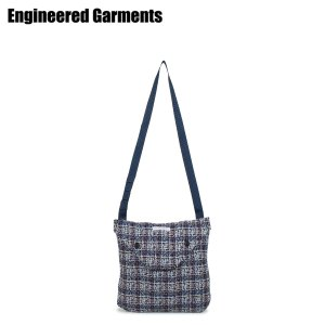 ENGINEERED GARMENTS エンジニアドガーメンツ バッグ ショルダーバッグ サコッシュ メンズ レディース SHOULDER POUCH ブルー 20S1H014 [3/26 新入荷]|sugaronlineshop