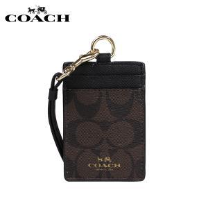 コーチ COACH パスケース カードケース 定期入れ F63274 ブラウン ブラック レディース
