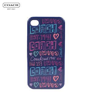 コーチ COACH アイフォンケース F64558 マルチカラー デイジー パッチ iPhone4 4S メンズ レディース sugaronlineshop