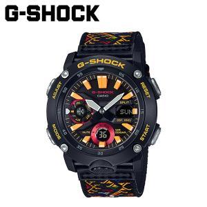 カシオ CASIO G-SHOCK 腕時計 GA-2000BT-1AJR カーボンコアガード ブータン王国 ジーショック Gショック G-ショック メンズ レディース ブラック 黒 [予約商品 11/19頃入荷予定 新入荷]