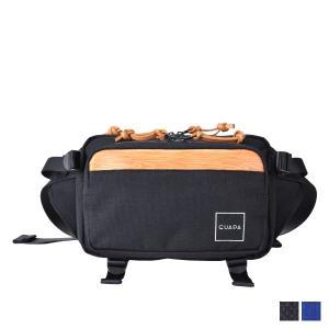 グアパ GUAPA バッグ ウエストバッグ ボディバッグ ショルダー メンズ レディース DONAU SERIES ブラック ネイビー 黒 51006|sugaronlineshop