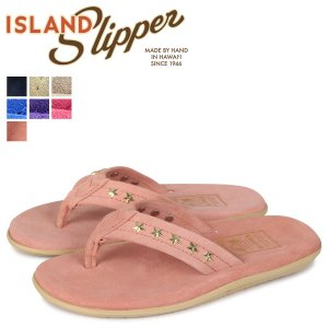 ISLAND SLIPPER アイランドスリッパ レディース サンダル スエード トングサンダル SUEDE STUDS スタッズ PT203 STD18|sugaronlineshop