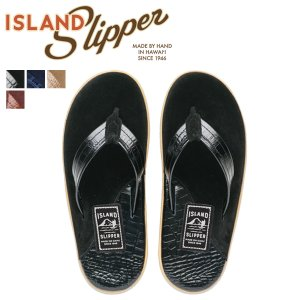 ISLAND SLIPPER アイランドスリッパ メンズ サンダル トングサンダル スエード レザー LEATHER SUEDE ネイビー PT205 7/4 追加入荷|sugaronlineshop