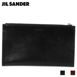 ジルサンダー JIL SANDER 財布 長財布 メンズ FOLDED ZIP WALLET MD ブラック ホワイト ブラウン 黒 白 MPS00015N [11/15 新入荷]