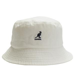 KANGOL カンゴール ハット キャップ 帽子 バケットハット メンズ レディース WASHED BUCKET ホワイト 白 100169221 sugaronlineshop