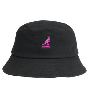 KANGOL カンゴール ハット キャップ 帽子 バケットハット メンズ レディース WASHED BUCKET ブラック 黒 195169505 sugaronlineshop