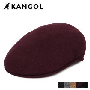 カンゴール KANGOL ハンチング 帽子 メンズ レディース WOOL 504 ブラック グレー キャメル ワイン レッド 黒 197-169001 [11/5 新入荷]