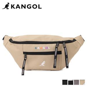 KANGOL カンゴール バッグ ボディバッグ ウエストバッグ メンズ レディース BODY BAG ブラック グレー ベージュ 黒 KGSA-BG00093|sugaronlineshop