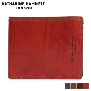 キャサリンハムネット ロンドン KATHARINE HAMNETT LONDON 財布 二つ折り メンズ MINI WALLET ネイビー オリーブ ダーク ブラウン KH-1212015 [11/8 新入荷]