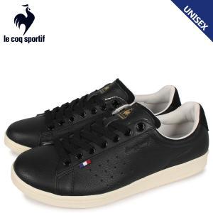 le coq sportif ルコック スポルティフ LA ローラン スニーカー メンズ レディース LA ROLAND LE+2 ブラック 黒 QL1NJC06BB [3/28 新入荷]|sugaronlineshop